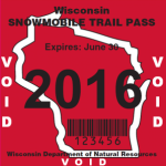 Trail Pass Sticker